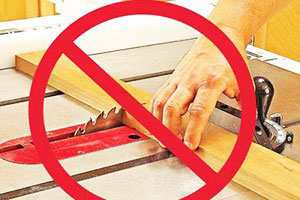 Safely Using A Table Saw
